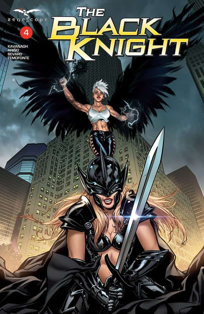 The Black Knight #4 - Cover A