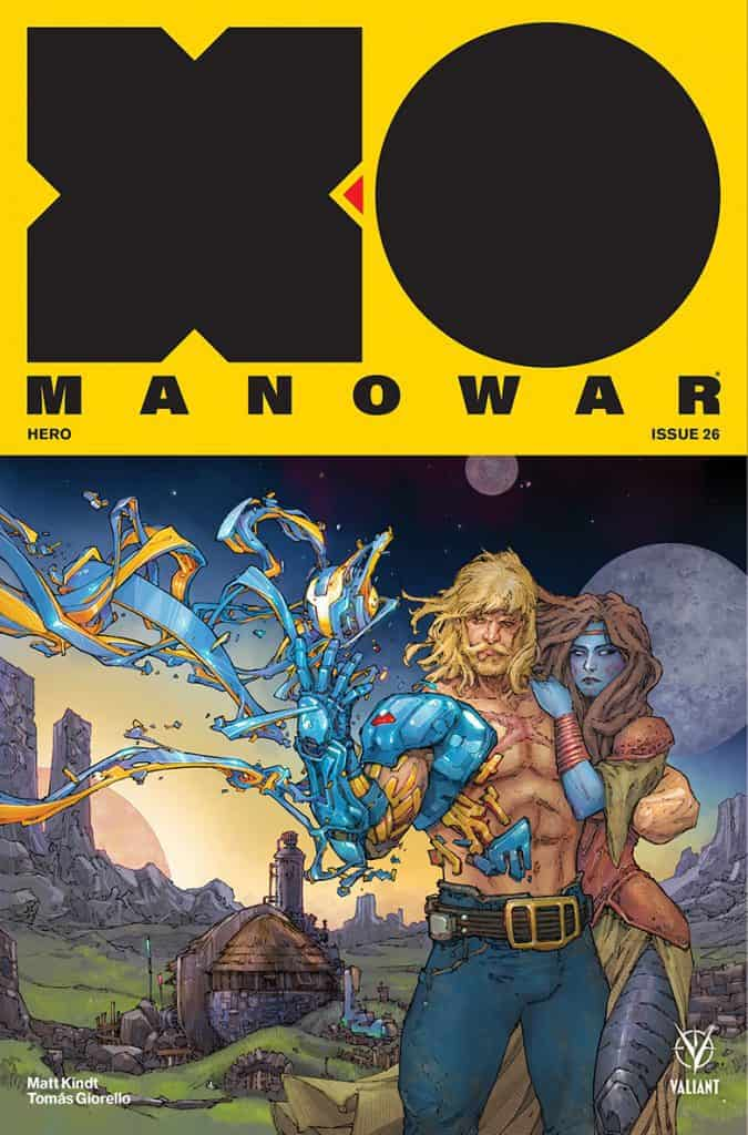 X-O Manowar #26 - Cover A