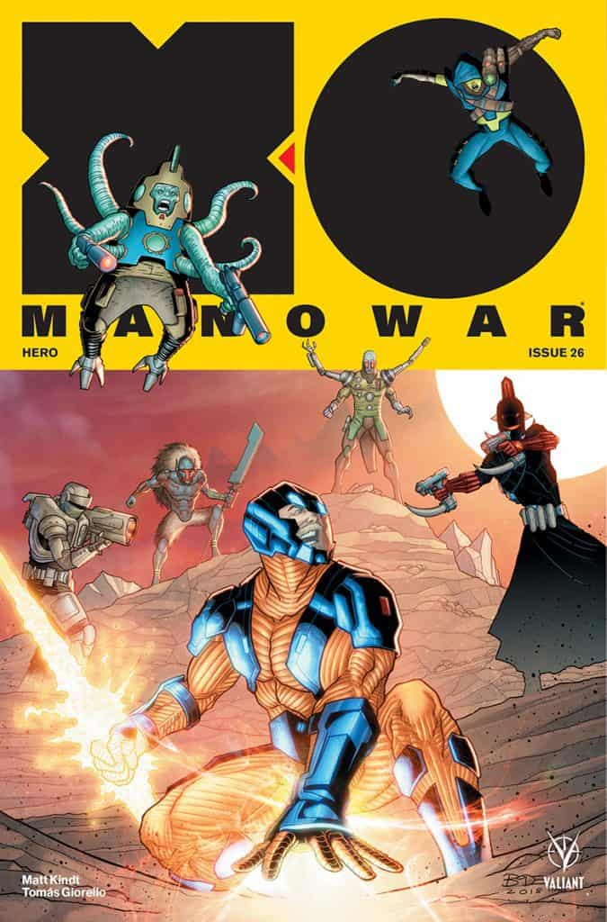 X-O Manowar #26 - Cover B