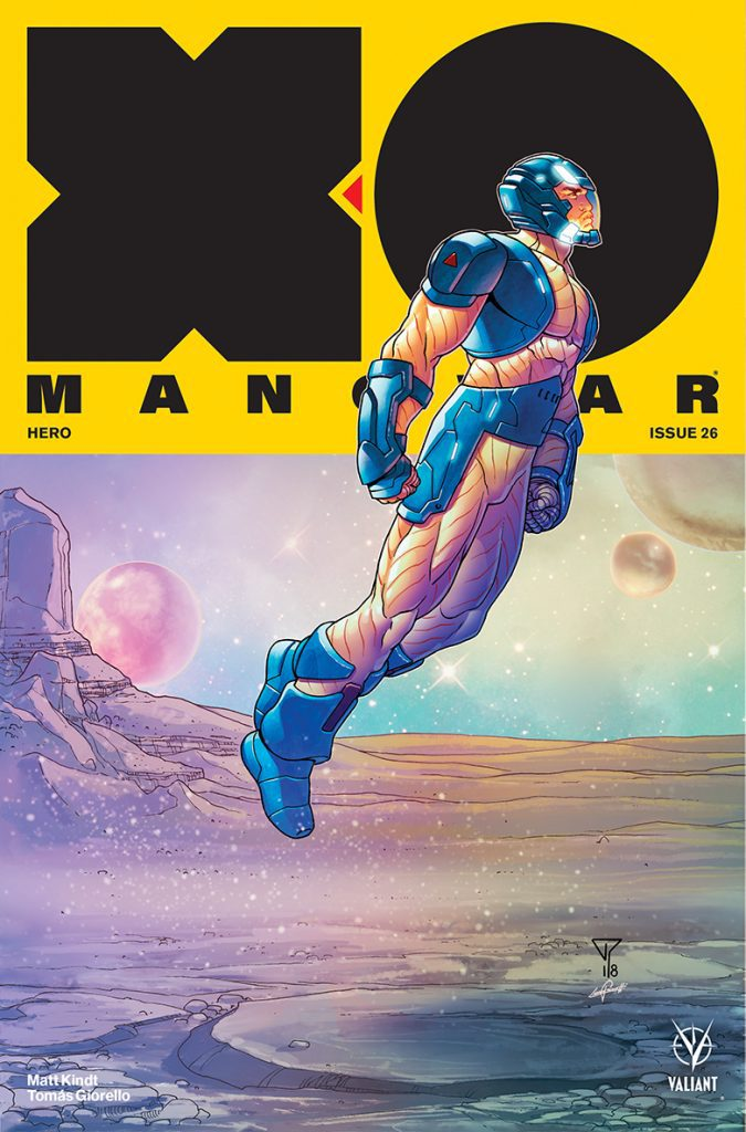 X-O Manowar #26 - Interlocking Variant Cover