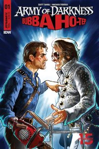 Army of Darkness vs. Bubba Ho-Tep #1 - Cover D