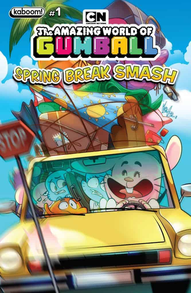 Amazing World of Gumball: Spring Break Smash #1 - Main Cover