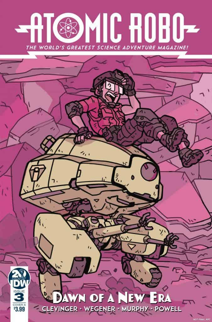 Atomic Robo and the Dawn of a New Era #3 - Cover A