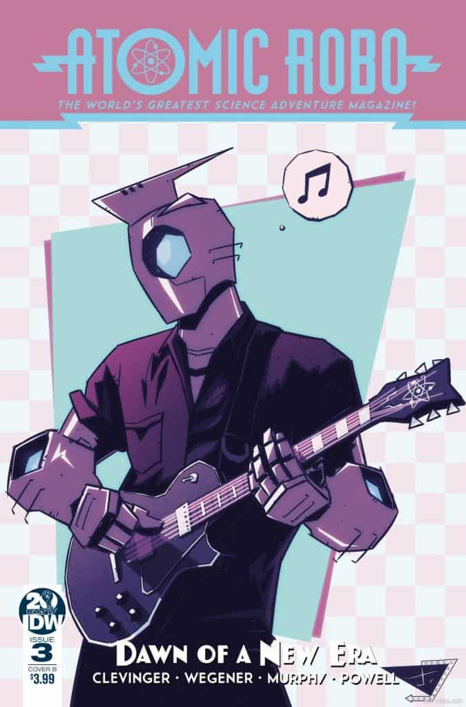 Atomic Robo and the Dawn of a New Era #3 - Cover B