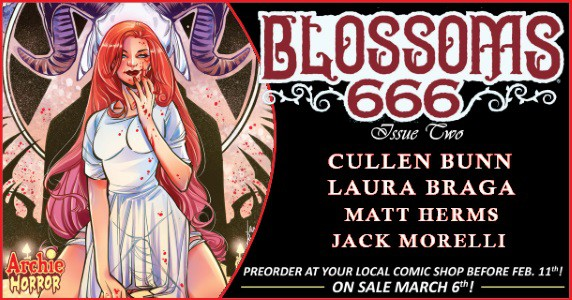 BLOSSOMS 666 #2 pre-order feature