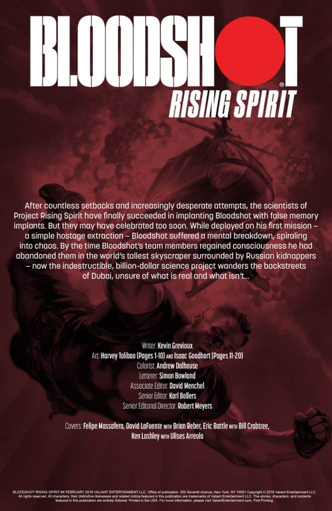 Bloodshot Rising Spirit #4 - preview page 1