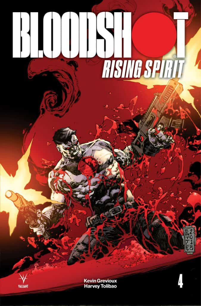 Bloodshot Rising Spirit #4 - Cover C