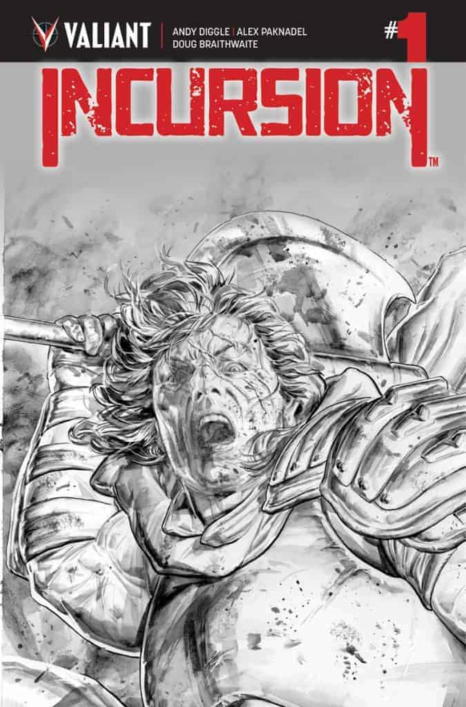 INCURSION #1 (of 4) - Cover C (B/W)