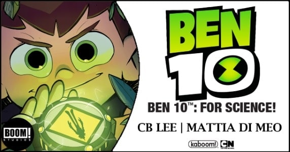 Ben 10 For Science! OGN preview feature