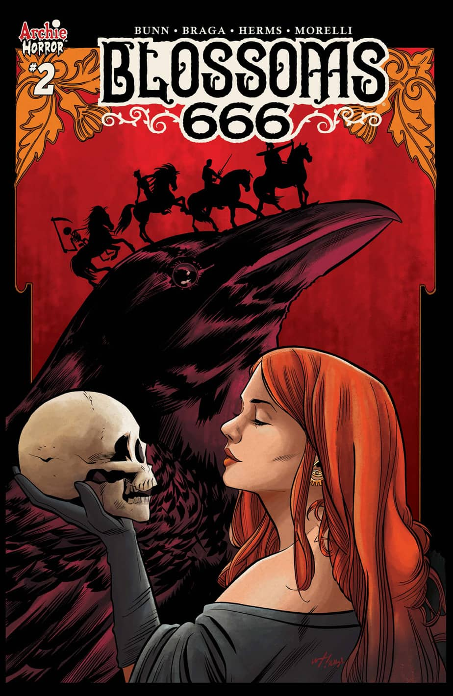 BLOSSOMS 666 #2 – Variant Cover by Wilfredo Torres