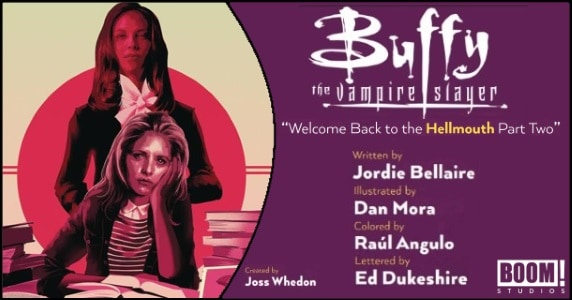 Buffy the Vampire Slayer #2 preview feature