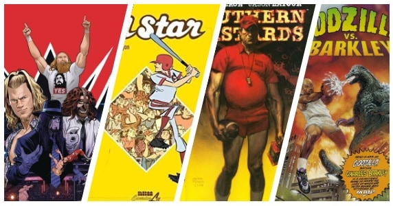 Comic Books and Sports feature