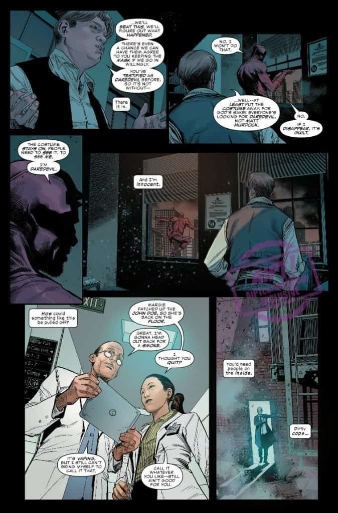 Daredevil #2 preview page 4