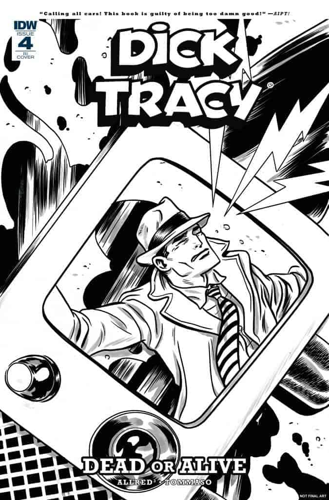 Dick Tracy: Dead or Alive #4 - Retailer Incentive Variant