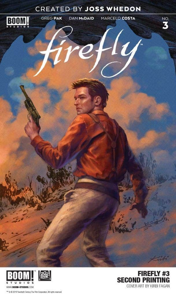 FIREFLY #3 SECOND PRINTING VARIANT.