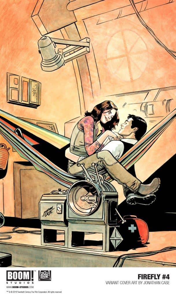 FIREFLY #4 - Variant Cover by Jonathan Case