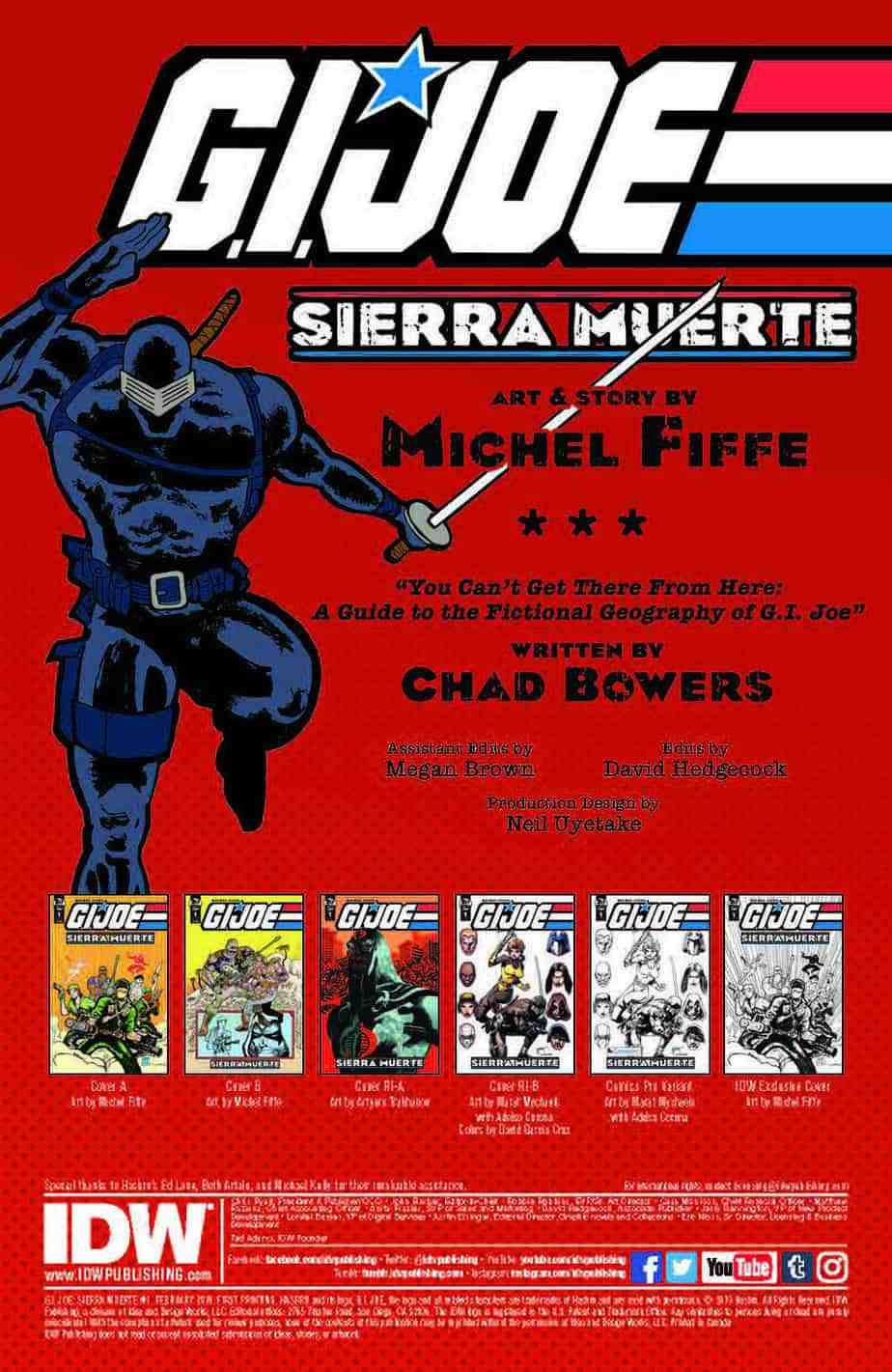 G.I. Joe Sierra Muerte #1 – preview page 1