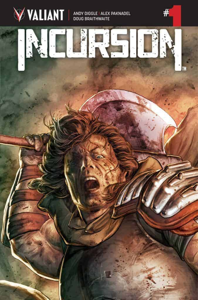 INCURSION #1 (of 4) - Cover A