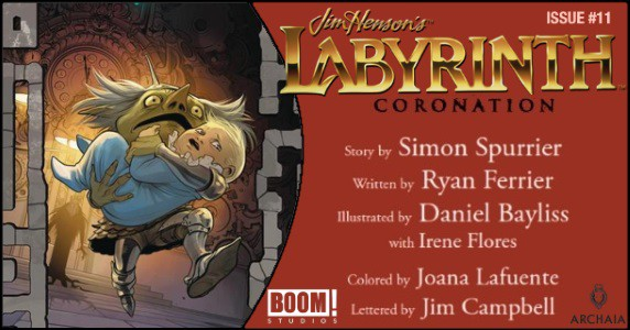 Jim Henson's Labyrinth Coronation #11 preview feature