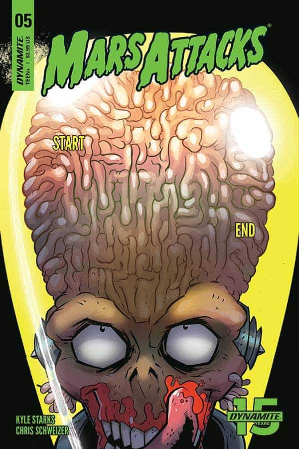 MARS ATTACKS #5 - Cover A