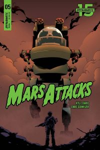 MARS ATTACKS #5 - Cover B
