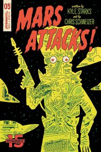 MARS ATTACKS #5 - Cover E