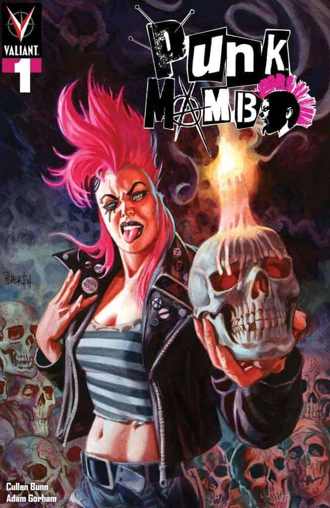 PUNK MAMBO #1 (of 5) – Cover A by Dan Brereton