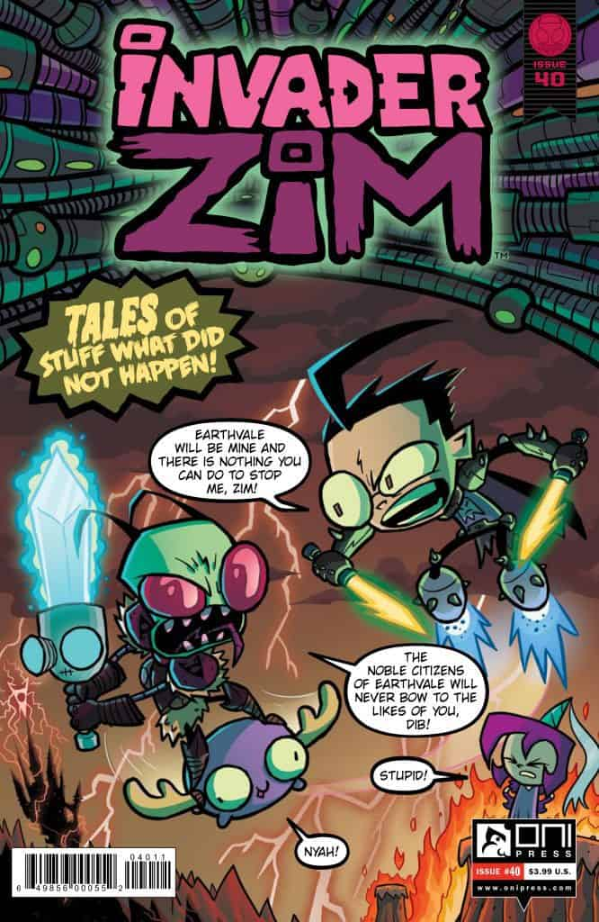 Invader ZIM #40 - Cover A