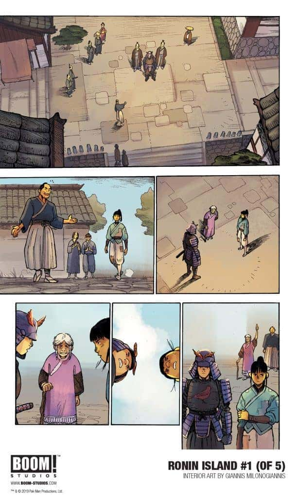 RONIN ISLAND #1 - preview page 4