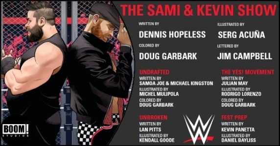 WWE The Sami and Kevin Show preview feature