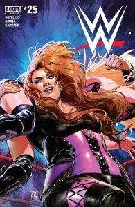 WWE #25 - Pre-Order Cover