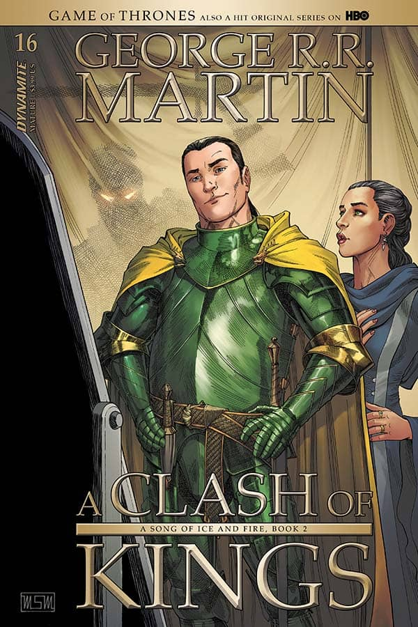 George R. R. Martin's A Clash of Kings #16 - Cover A