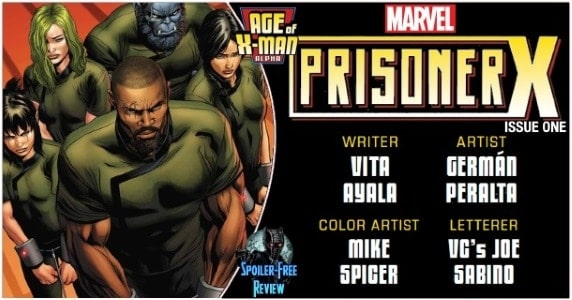 Age of X-Man Prisoner X #1 review feature