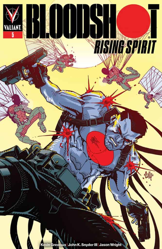 BLOODSHOT: RISING SPIRIT #5 - Cover B