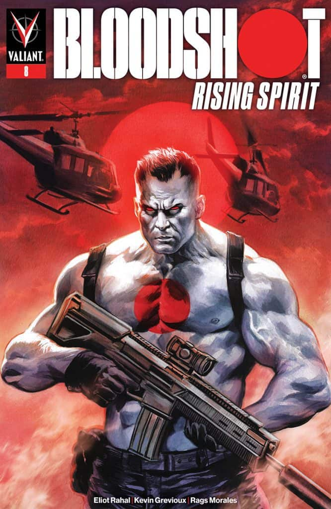 BLOODSHOT RISING SPIRIT #8 - Cover A