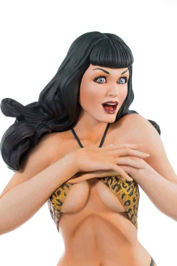 Bettie Page Terry Dodson Statue 2