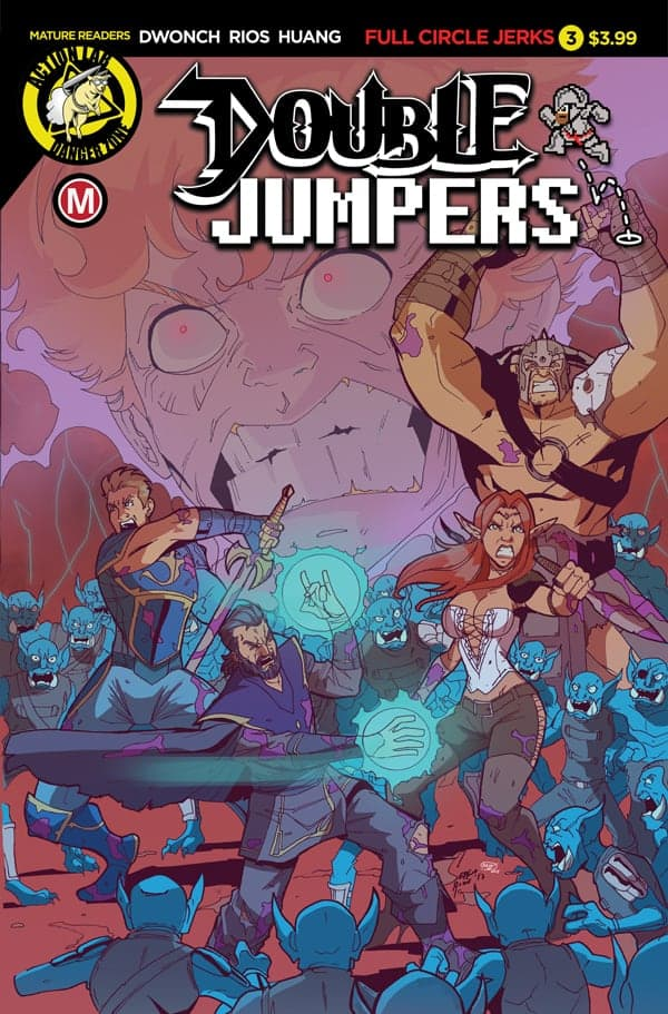Double Jumpers: Full Circle Jerks #3 Cover A