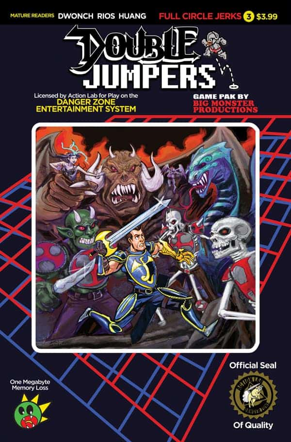 Double Jumpers: Full Circle Jerks #3 Cover B