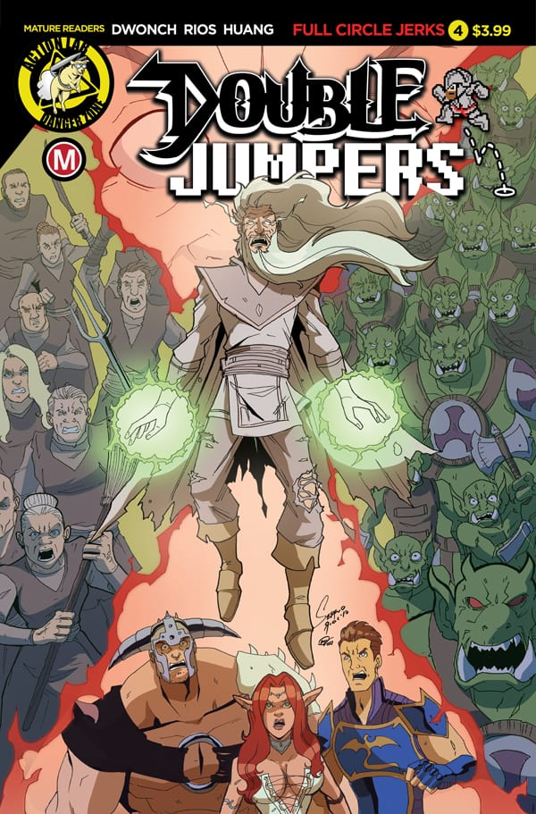 DOUBLE JUMPERS: FULL CIRCLE JERKS #4 - Cover A