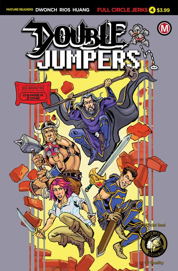 DOUBLE JUMPERS: FULL CIRCLE JERKS #4 - Cover B
