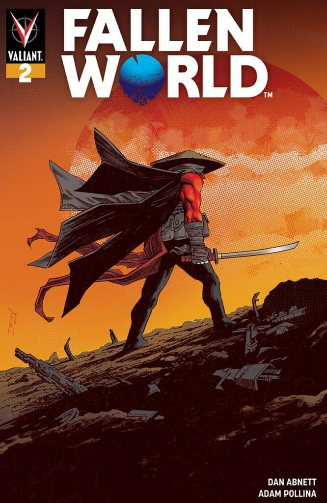 FALLEN WORLD #2 - Cover B