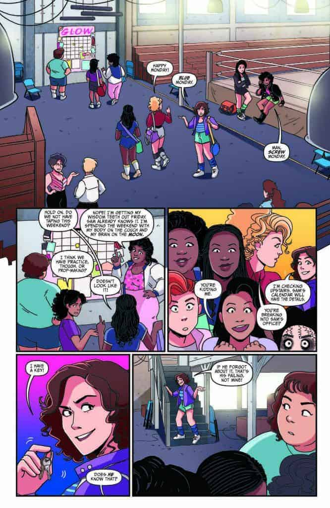 GLOW #1 - preview page 2