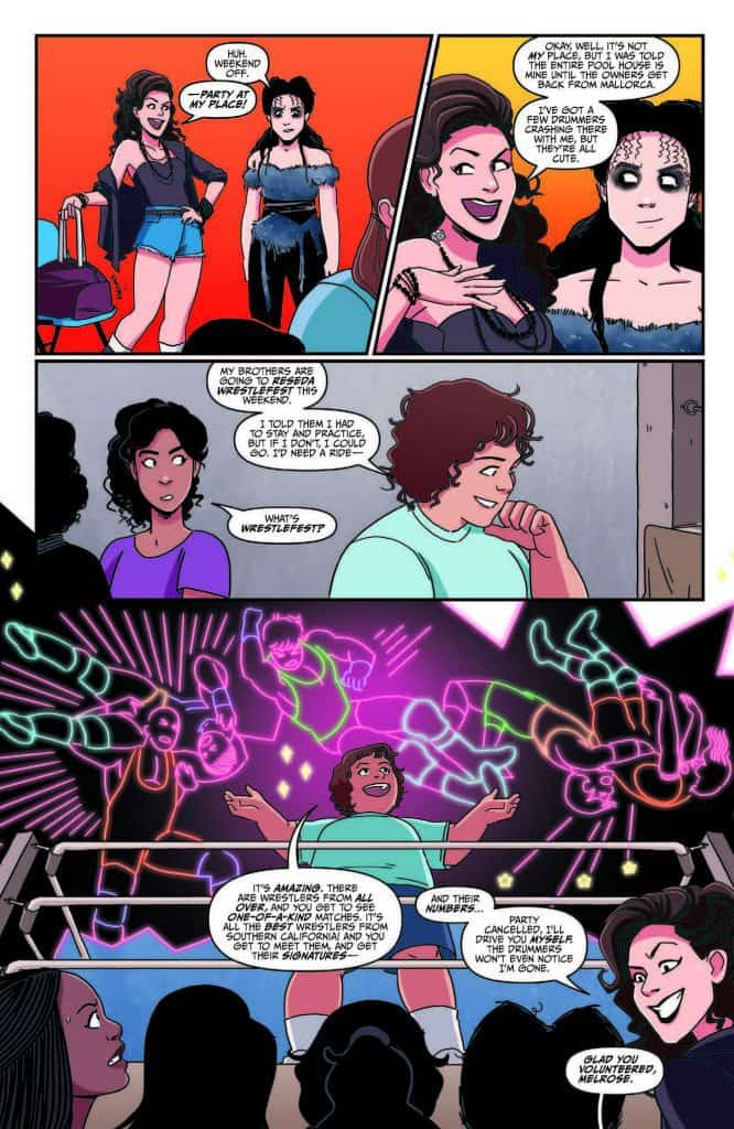 GLOW #1 - preview page 4