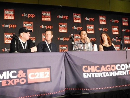 Into the Badlands Panel