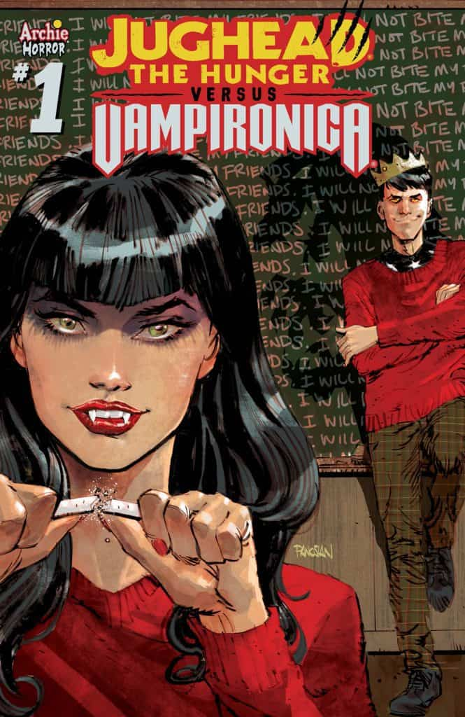 JUGHEAD: THE HUNGER VS. VAMPIRONICA #1 - Variant Cover by Dan Panosian