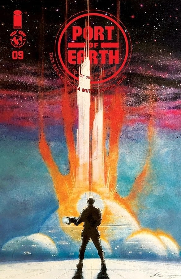 PORT OF EARTH #9 - Cover B