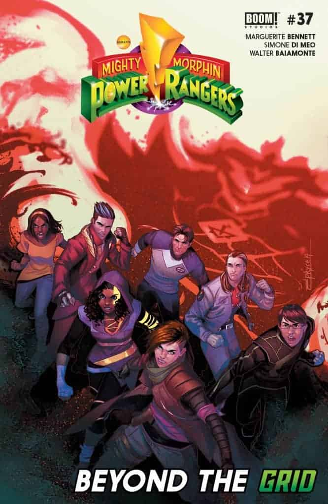 MIGHTY MORPHIN POWER RANGERS #37 - Main Cover