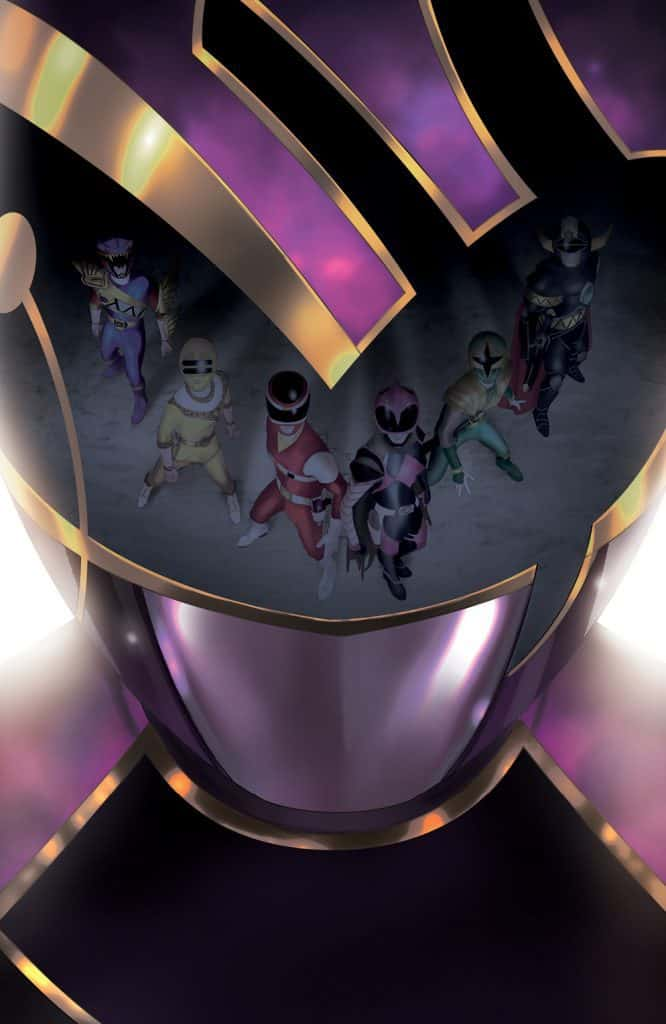 MIGHTY MORPHIN POWER RANGERS #37 - Unlocked Retailer Variant