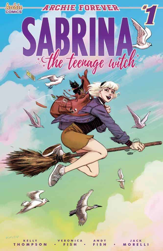 SABRINA THE TEENAGE WITCH #1 - Main Cover by Veronica Fish