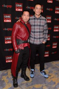 Sean Cho and Daniel Wu from into the badlands